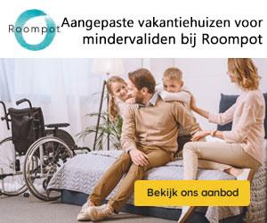 aangepaste vakantiehuizen roompot banner